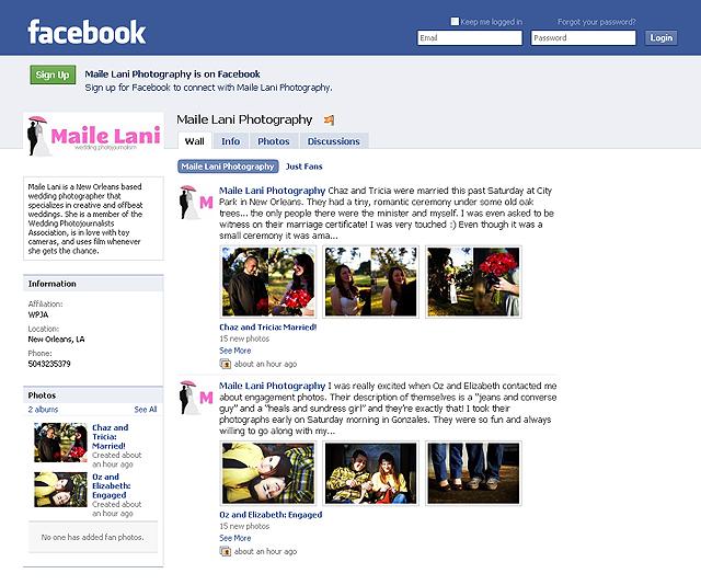 My Facebook Fan Page