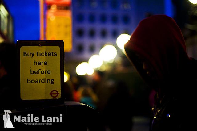 London Underground: Buy Tickets!