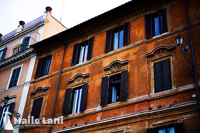 Rome: Man in Window
