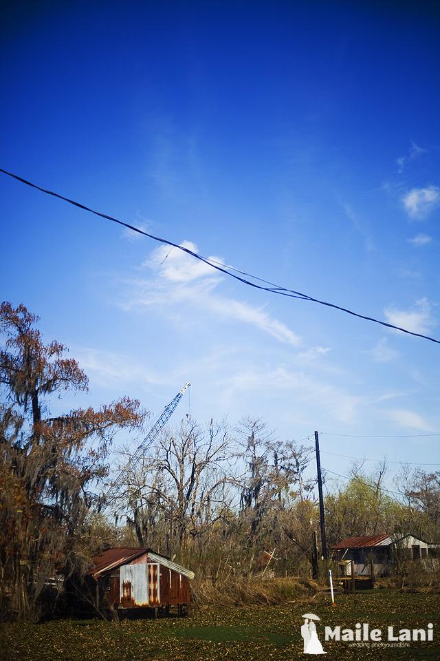 Rural Louisiana Airline Highway