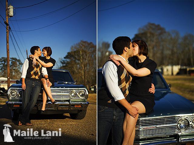 Brandy & Chris, Gonzales Louisiana, Engagement Photographs