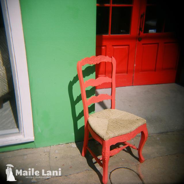 The Little Orange Chair