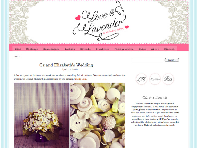 Maile Lani • Blog Love: Love and Lavender