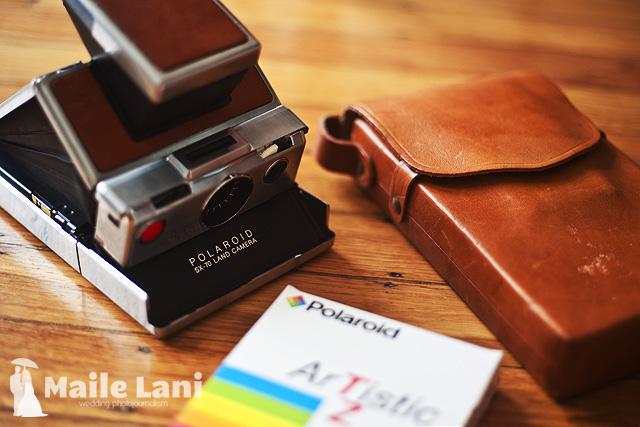 Polaroid SX-70 Land Camera Alpha One... With Case!