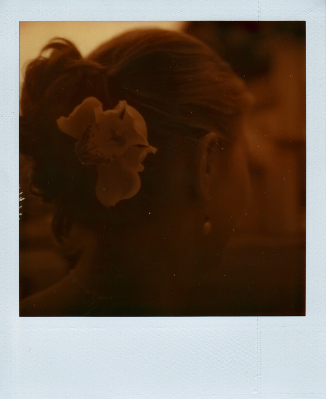 The Impossible Project PX 100 Film Polaroid Wedding Photography