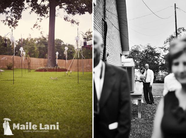Brandy & Chris • New Orleans Backyard Wedding