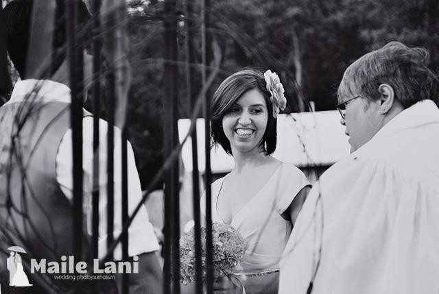 Brandy & Chris •Backyard Wedding Ceremony
