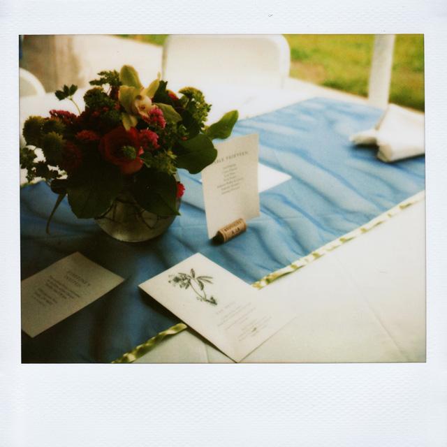 Wedding Photography With Polaroids
