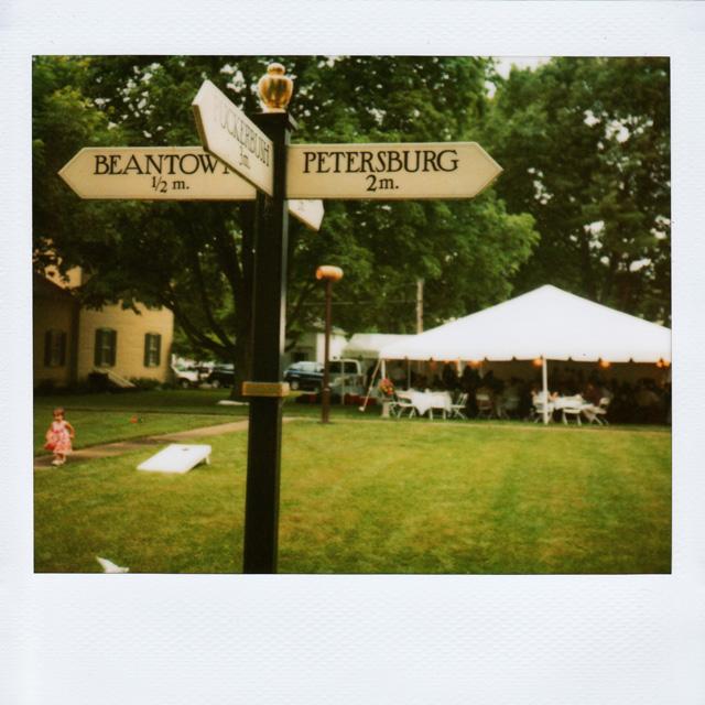 Polaroid Wedding Pics