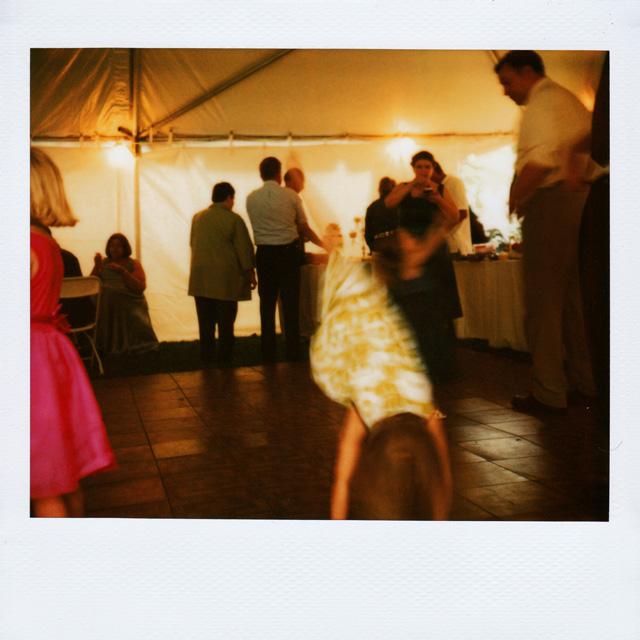 Polaroid Wedding Picture