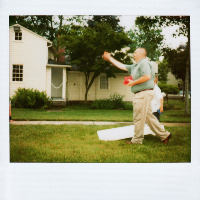 Polaroid Wedding Photograph