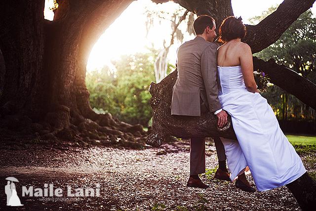 Audubon Park Wedding