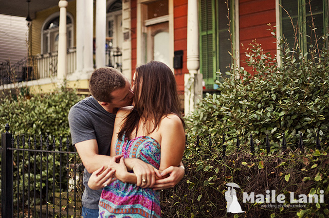 Audubon Park Engagement Photography New Orleans