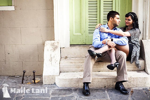 French Quarter Engagement Photographs