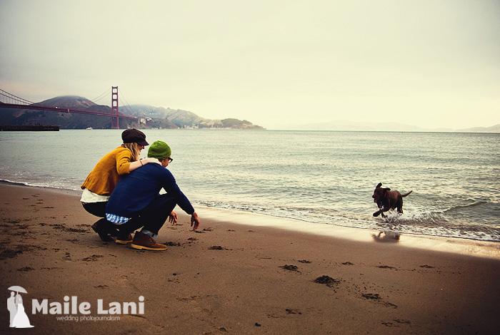 San Francisco Engagement Photography Golden Gate Bridge