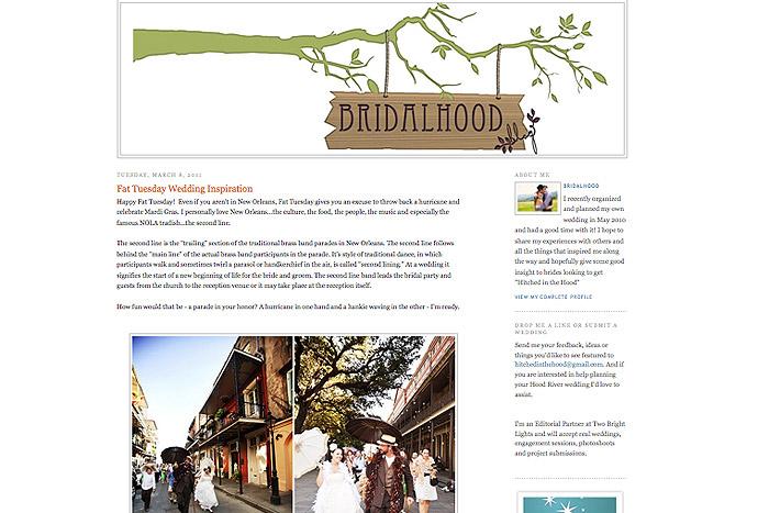 Maile Lani BridalHood Blog Feature