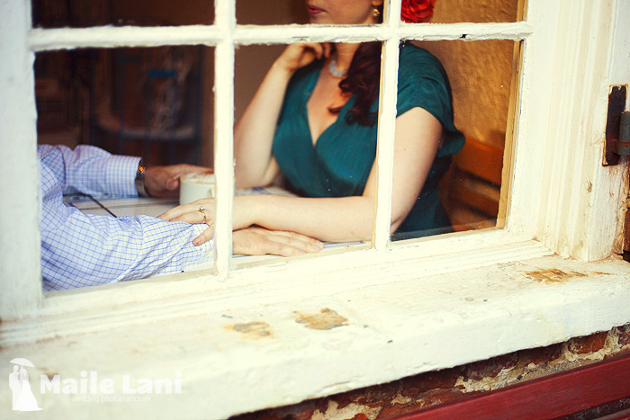 Royal Blend French Quarter Engagement Photograph Coffee