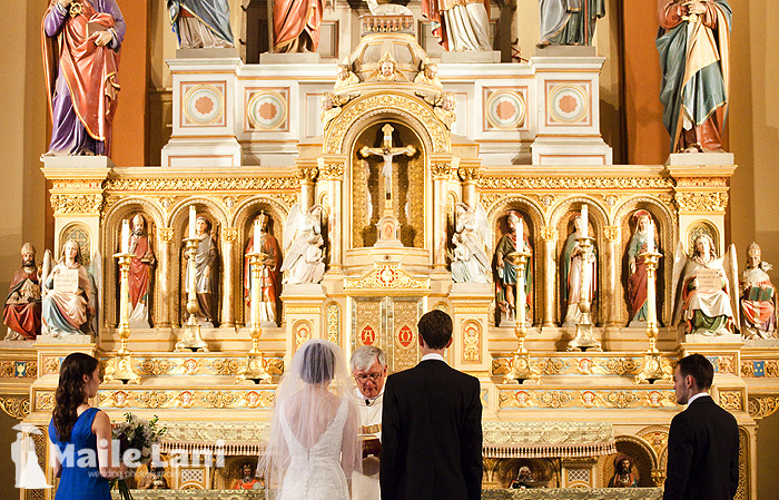 St Mary Church Garden District Wedding New Orleans