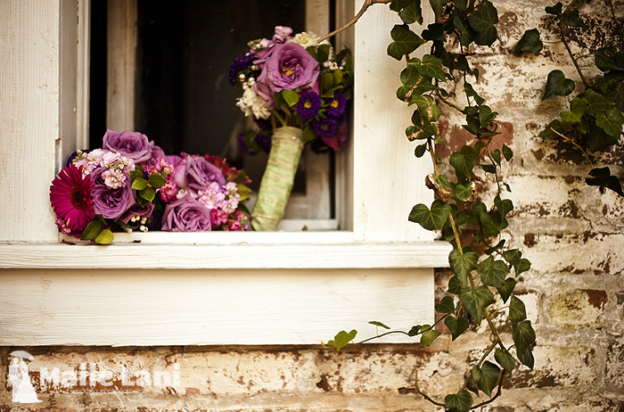 DIY Wedding Bouquet Photos