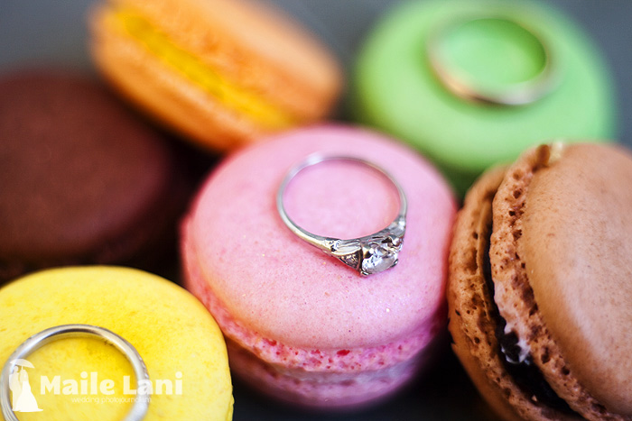 Wedding Ring Details Sucre Macaroons New Orleans