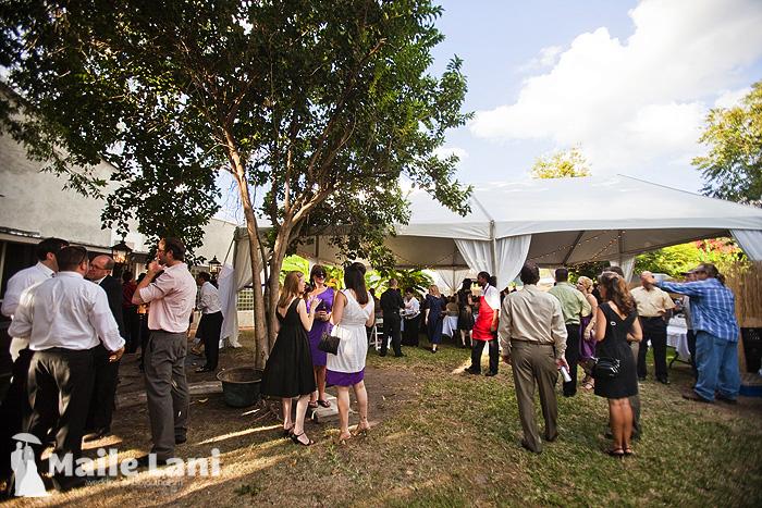 Backyard Wedding New Orleans