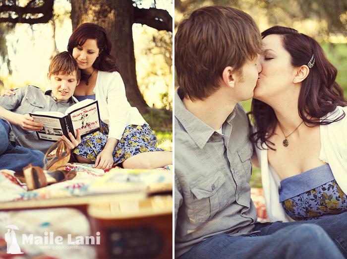 Blanket Engagement Photography