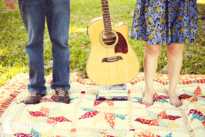Guitar Engagement Photography