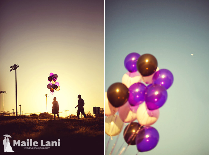 Balloon Engagement Photography