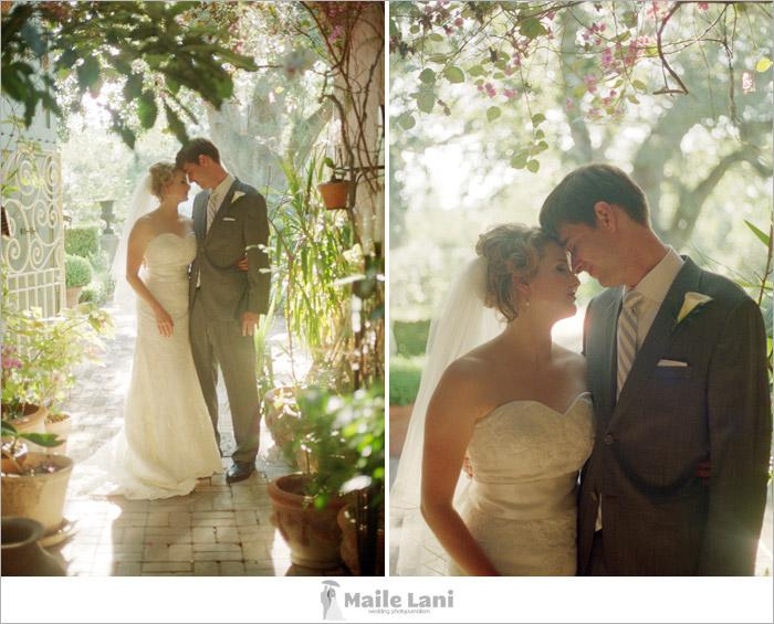 Houmas House Wedding Photographs on Film