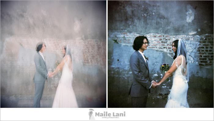 Holga Wedding Photographs