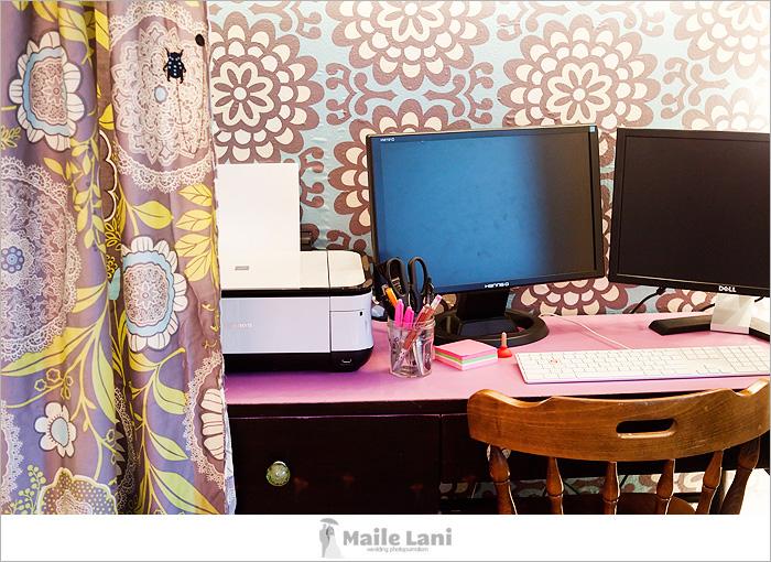 Closet Office Makeover