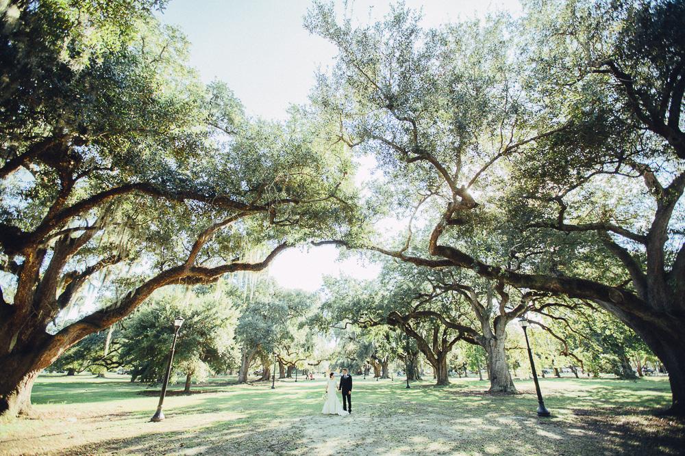 Audubon Park Wedding Photos