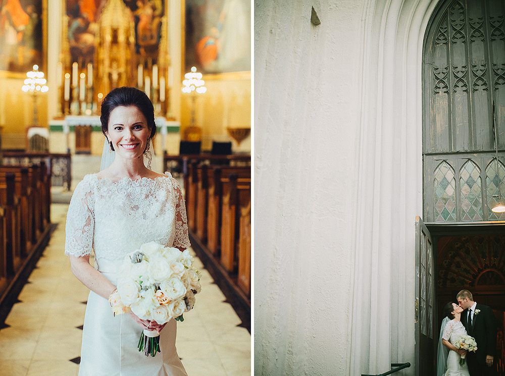 St. Patrick's Church Wedding Photos