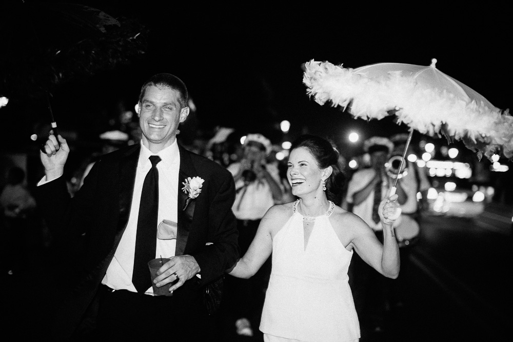New Orleans Wedding Second Line