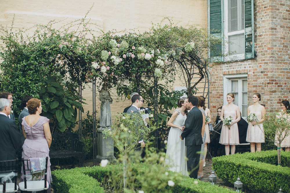 Beauregard-Keyes House Wedding New Orleans