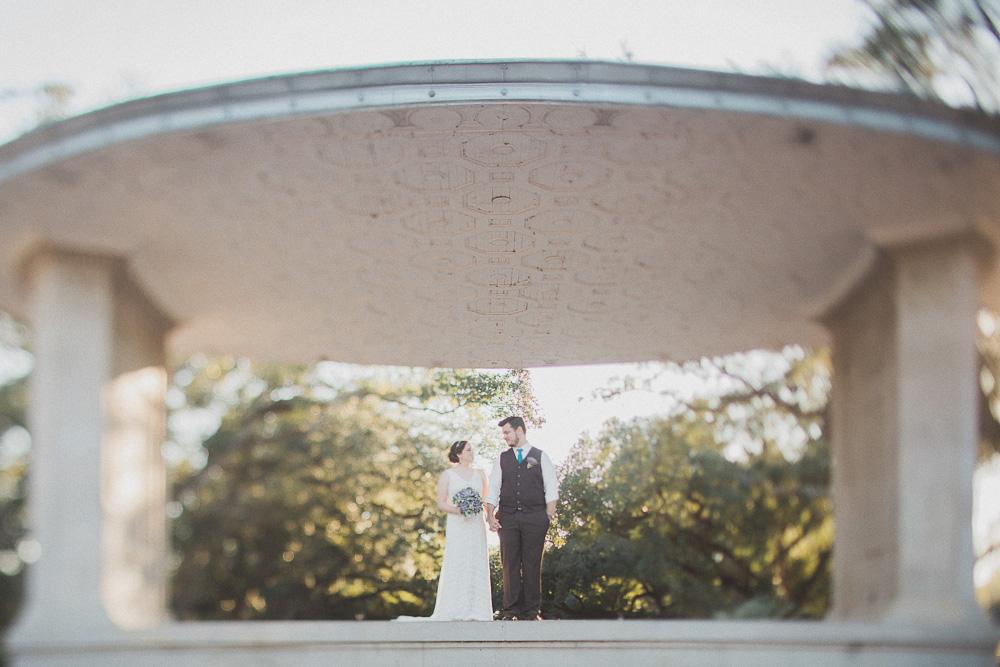 Audubon Park Newman Bandstand Wedding Pictures