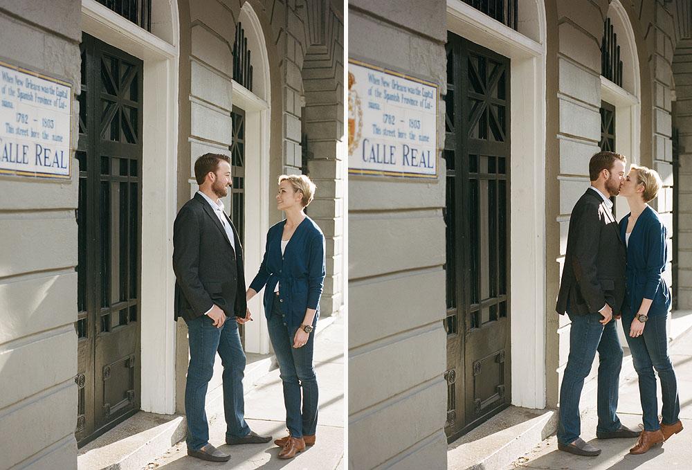 French Quarter Engagement Session Film