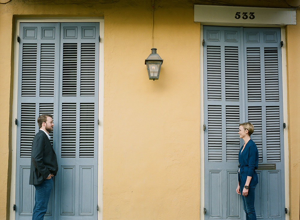 French Quarter Engagement Session Hasselblad