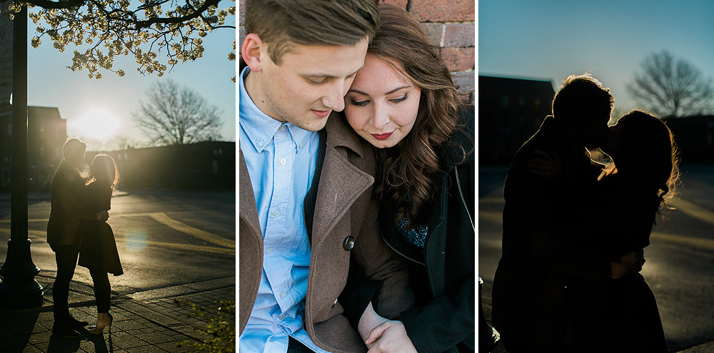 Historic Franklin Tennessee Engagement Photographs