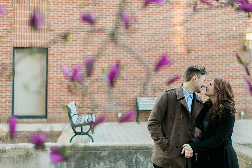 Historic Franklin Tennessee Engagement Photographer