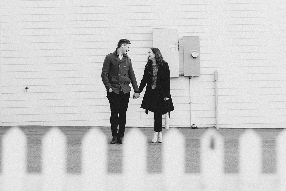 Downtown Franklin Engagement Photography