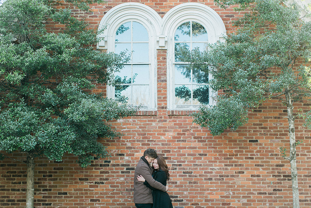 Downtown Franklin Engagement Pictures