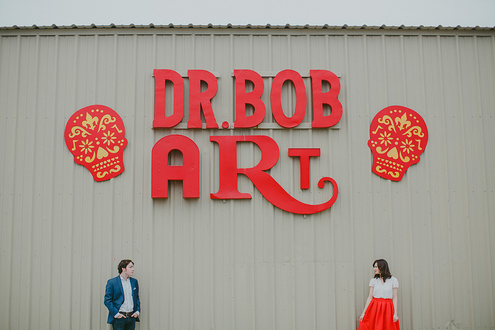Dr. Bob's Art Engagement Photos New Orleans