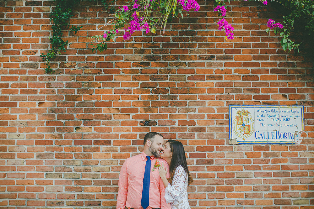 New Orleans French Quarter Elopement Pictures