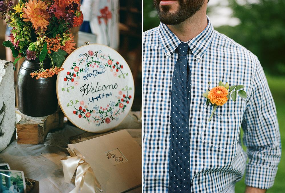 new york wedding details
