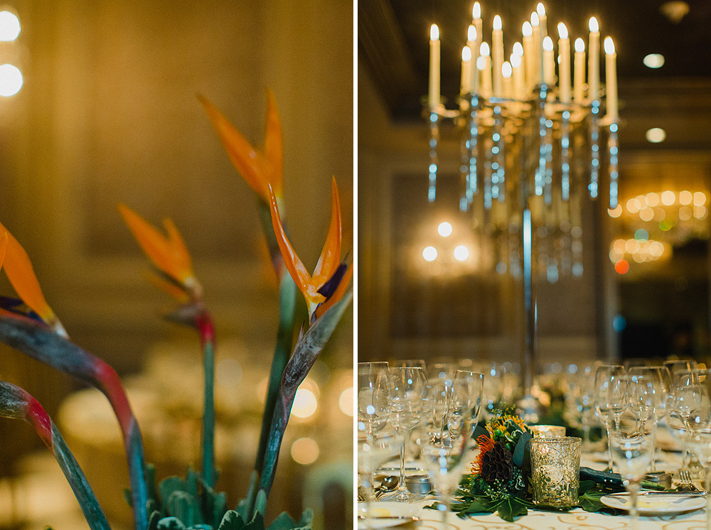 Tropical Wedding Inspiration Birds of Paradise Royal Sonesta New Orleans