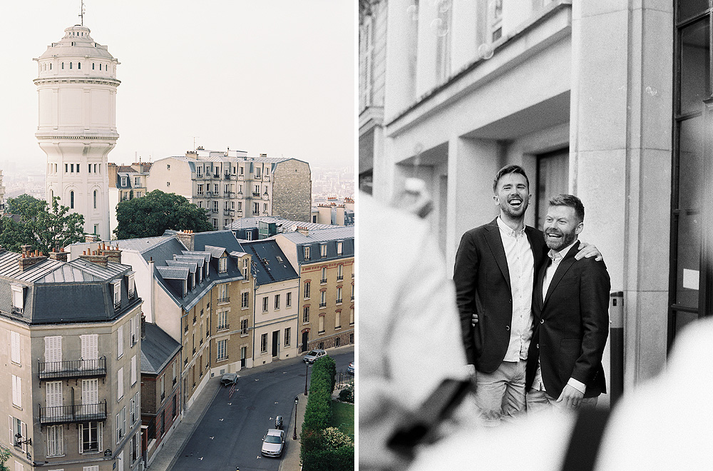 Film Wedding Photographer Paris