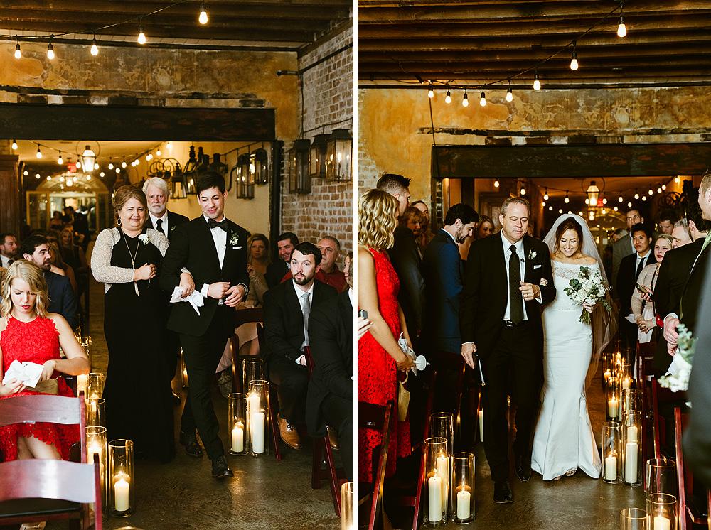 Bevolo Gas Electric Lights Museum Wedding
