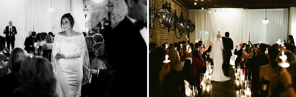 Bevolo Gas Electric Lights Museum Wedding