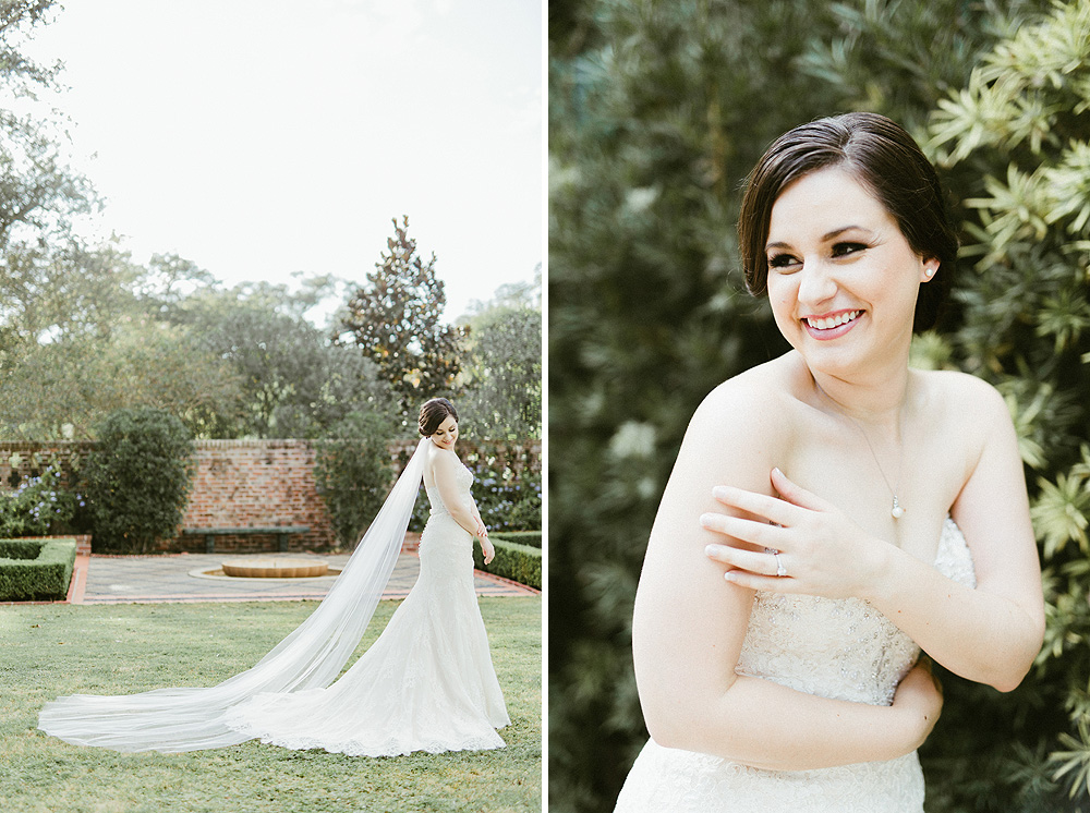 Longue Vue House and Gardens Bridal Photos